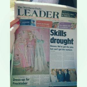 The Northern Daily Leader ~ Frocktober Story