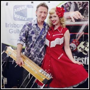 Brisbane Steel Guitar Festival Lawrie & Shelley Minson