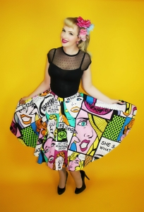 Pop Art Princess Skirt