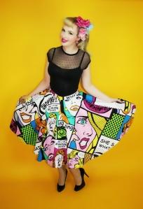 Pop Art Princess Skirt